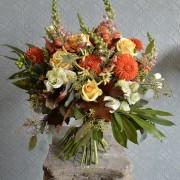 Orange and Gold Studio Choice Bouquet