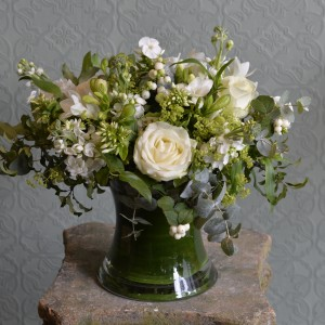 Scented Country Garden Vase Arrangement