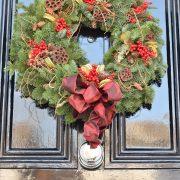 Chirstmas door wreath