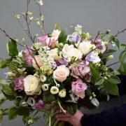 Seasonal rose bouquet
