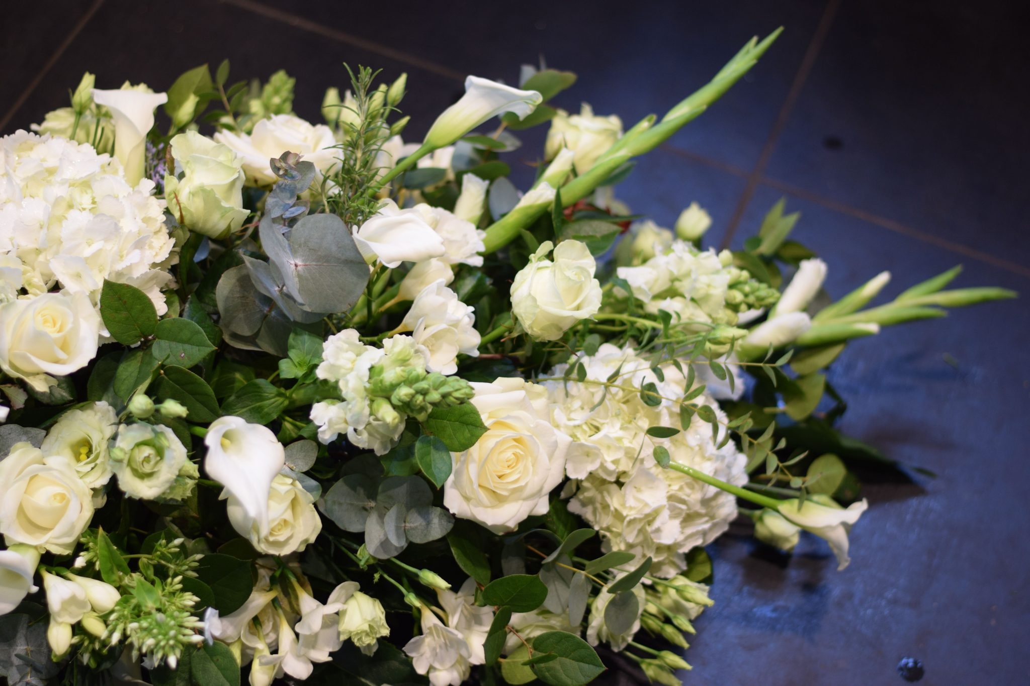 Funeral Flowers Spray Arrangement Kensington Flowers