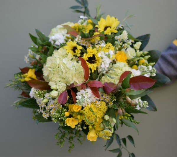 A photo of a scented garden bouquet from Kensington Flowers