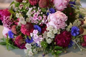 British Flowers bouquet seasonal flowers english independent grower flowers sweet william