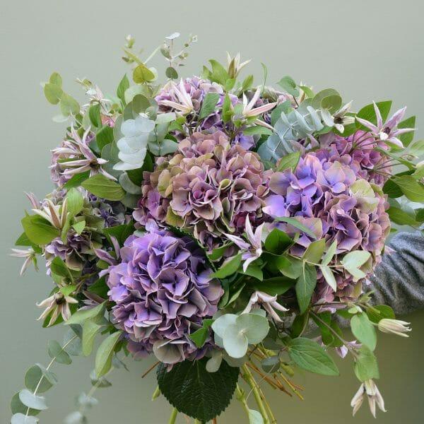 Photo showing a sample of a Florist choice bouquet Kensington Flowers London