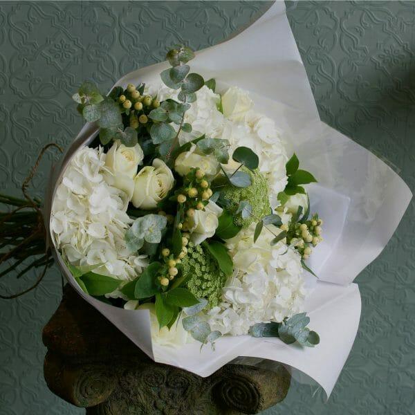 Gift Wrapped Bouquet Kensington flowers
